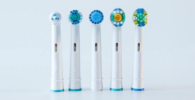 Range of Toothbrush Heads